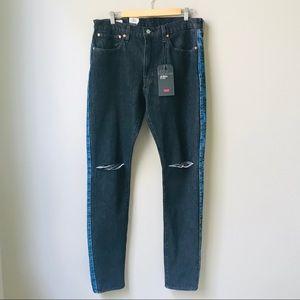 Levi's Jeans Men's Size 36 New NWT Black Logo Side